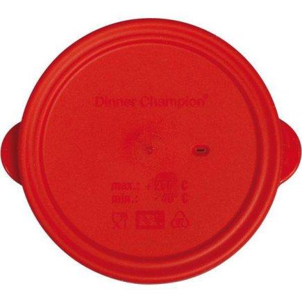 Víko silikonové pro misku 227747017, červená
