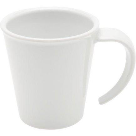 Hrnek na kávu plast Ornamin 350 ml, bílý