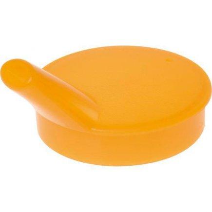 Víčko pro kelímek 229901504 Ornamin 7 cm, otvor pro pití 13 mm, oranžová