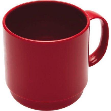 Hrnek plastový Ornamin 250 ml, červený