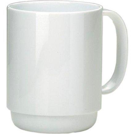 Hrnek plastový Ornamin 350 ml, bílý