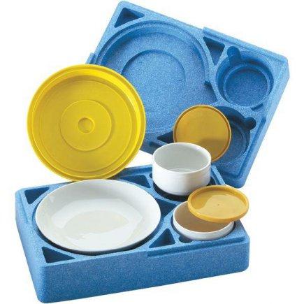 Kompletní menu box Menümobil, modrý