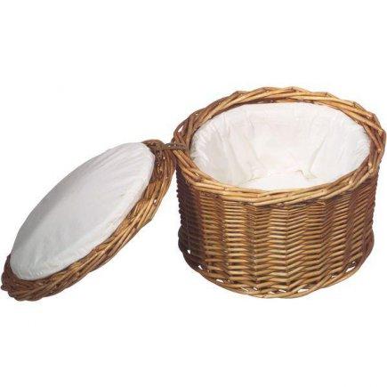 Košík na vejce s poklopem APS 26 cm