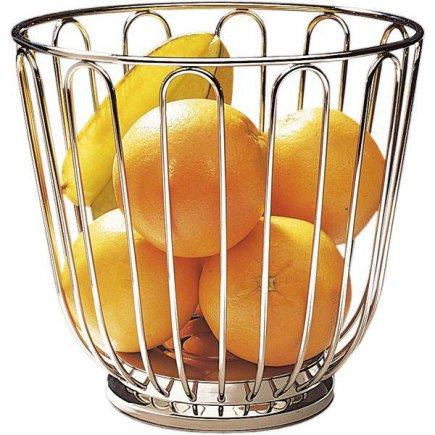 Servírovací košík na ovoce kulatý nerez APS 21,5 cm
