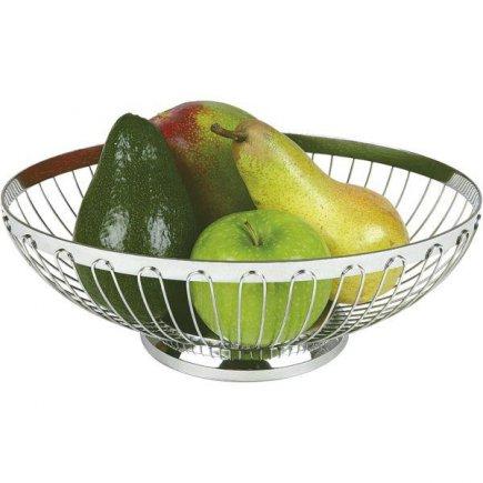 Servírovací košík na pečivo ovoce oválný APS 24,5x18 cm