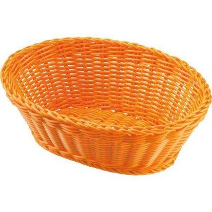 Servírovací košík na pečivo oválný Westmark 18,5x9 cm, oranžový