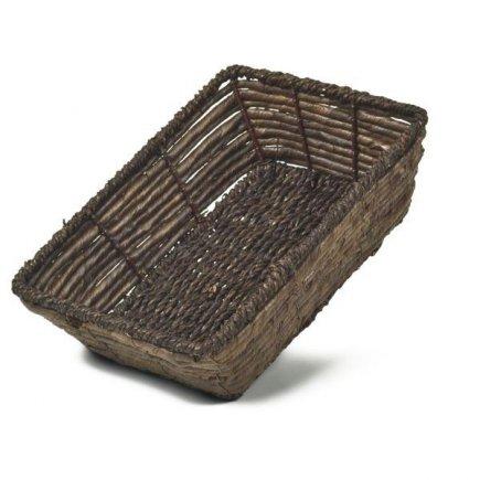 Košík hranatý Adam Schmidt 24x17 cm