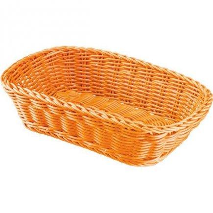 Košík na pečivo hranatý Westmark 26,5x19 cm, oranžový