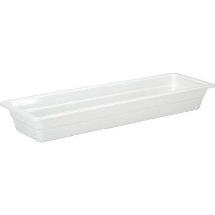 Gastro nádoba GN 2/4, melamin, 530x162 mm, opticky jako porcelán, kvalitní a masivní, odolné od -50C do +100C, APS