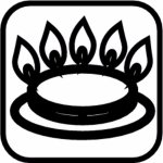 Hrnec nerez Paderno Grand Gourmet 24 cm, vysoký, indukce