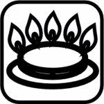 Hrnec nerez Paderno Grand Gourmet 45 cm, vysoký, indukce