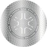 Pánev extra tvrdá a kvalitní, 280 mm, model Talent, Tefal, antiadhézní povrch Titanum