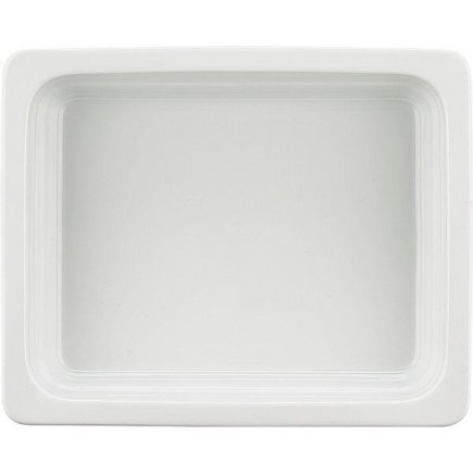 GN gastro nádoba 1/2 , 325 x 265 mm, v = 65 mm, bílá, porcelán, SCHÖNWALD