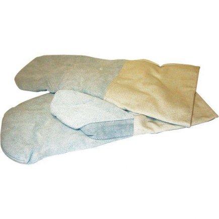 Kuchyňské rukavice na pečení kožené Lauterjung Solingen,1 pár