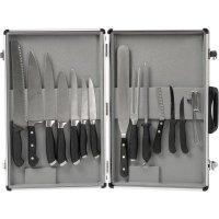 kufřík se sadou nožů set 11 dílů magnetické držadlo Gastro