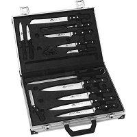 Sada nožů v kufříku, 13-dílná