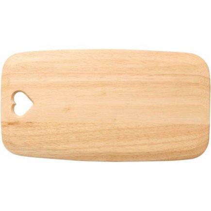 Prkénko na krájení servírování 35x19 cm dřevo