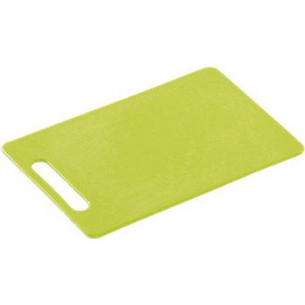 Prkénko krájecí, 240/150/6, kvalitní PVC, vhodné i do myčky, zelená, Kesper