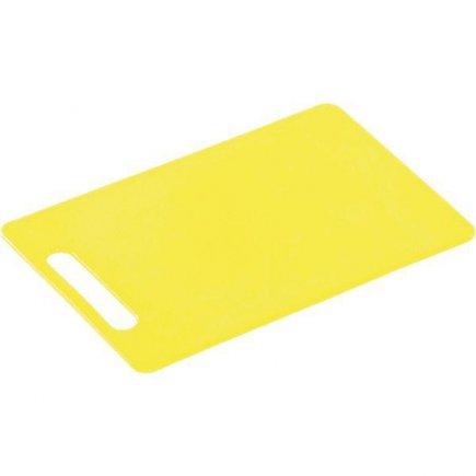Prkénko krájecí, 290/195/6, kvalitní PVC, vhodné i do myčky, žlutá, Kesper