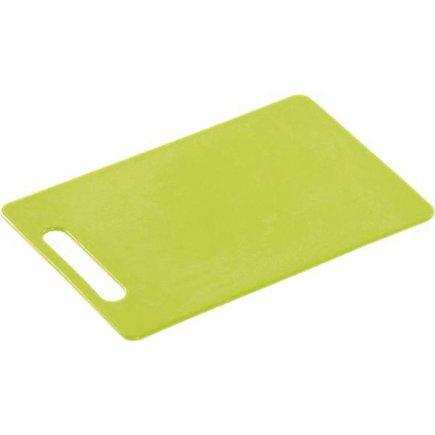 Prkénko krájecí, 290/195/6, kvalitní PVC, vhodné i do myčky, zelená, Kesper