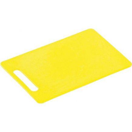 Prkénko krájecí, 340/240/6, kvalitní PVC, vhodné i do myčky, žlutá, Kesper