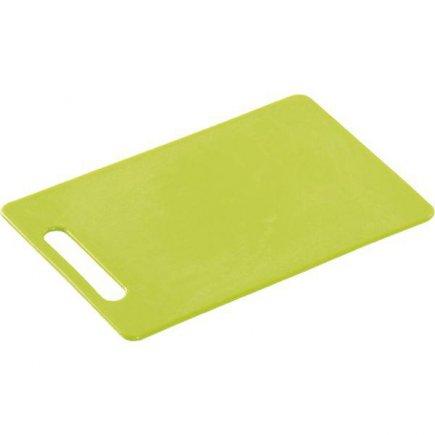 Prkénko krájecí, 340/240/6, kvalitní PVC, vhodné i do myčky, zelená, Kesper