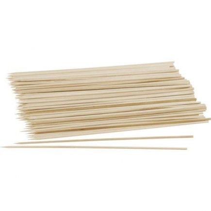 Špejle dřevěné hrocené Fackelmann 20 cm 100 ks