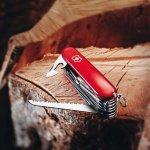 Kapesní nůž Victorinox Camper červený 13 funkcí