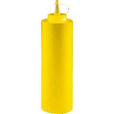 Dávkovací mačkací láhev Paderno 360 ml, žlutá