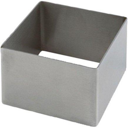 Forma na dezerty nerez APS 6x6 cm, čtverec