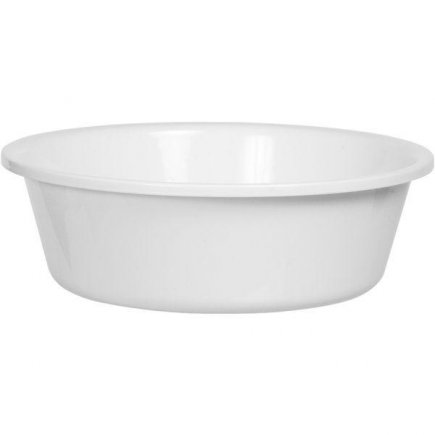 Mísa tvrdý plast Gastro 7,5 l, bílá