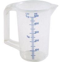 Odměrka plast Schneider 500 ml