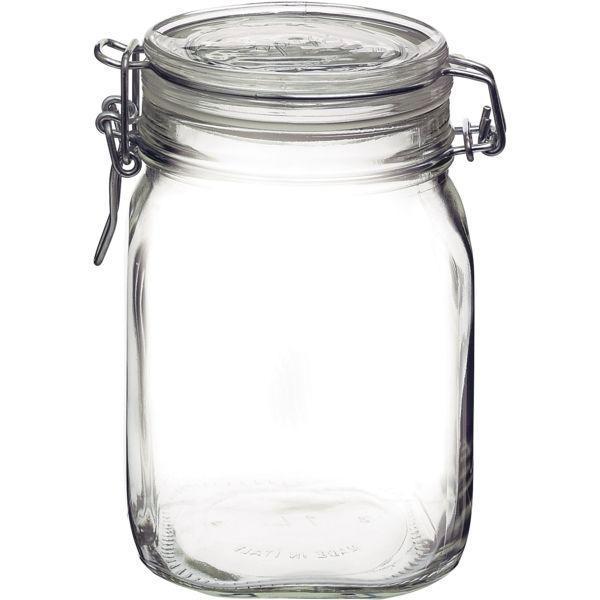 Zavařovací sklenice 1000 ml zavařovačky obloučkový uzávěr těsnění zavařování na utopence