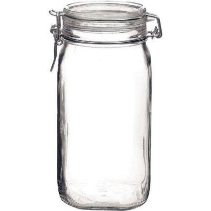 Zavařovací sklenice obloučkový uzávěr těsnění Fido 1500 ml Bormioli Rocco