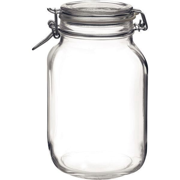 Zavařovací sklenice 2000 ml zavřovačky obloučkový uzávěr těsnění zavařování na utopence