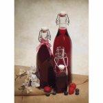 Láhev na alkohol 0,5 l hranatá 4 strany Swing Bormioli Rocco