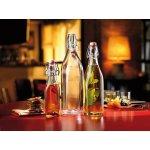 Láhev na alkohol 1 ,0 l hranatá 4 strany Swing Bormioli Rocco