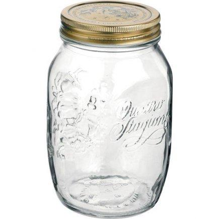 Zavařovací sklenice, 0,5 l, Quattro Stagioni, Bormioli Rocco