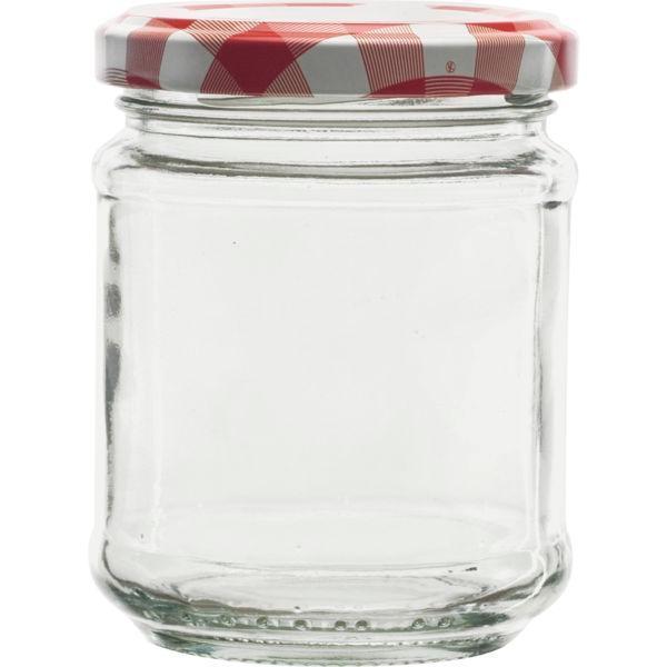 Zavařovací sklenice , 0,212 l, šroubovací víčko káry