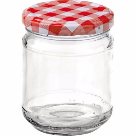 Zavařovací sklenice 212 ml víčko káry, pro marmelády Gastro
