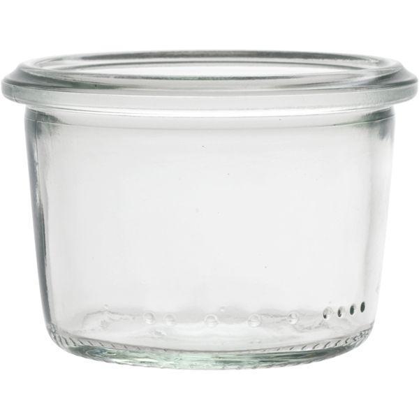 Zavařovací sklenice zavařovačky 80 ml bez víčka těsnění , možné doplnit 222271018, 222271004 a 222270076, zavařování Weck