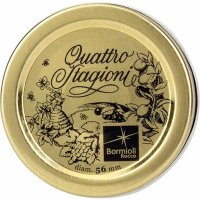 Víčko 56 mm sada 3 ks pro sklenici Quattro Stagioni