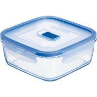Nádoba na potraviny skleněná Luminarc Pure Box 1220 ml, čtvercová