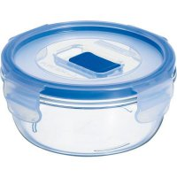 Nádoba na potraviny skleněná Luminarc Pure Box 420 ml, kulatá