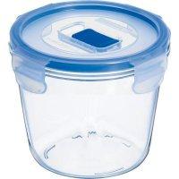 Nádoba na potraviny skleněná Luminarc Pure Box 840 ml, kulatá