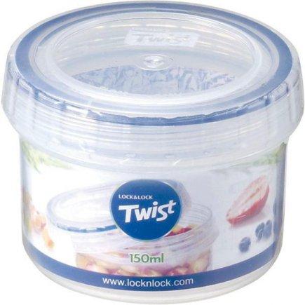 Dóza na potraviny Lock & Lock Twist 150 ml, kulatá