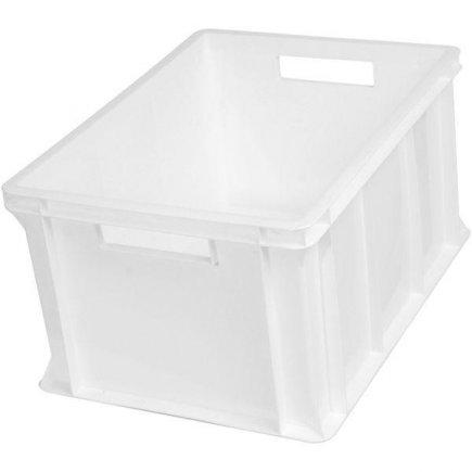 Přepravka plast 20 l 40x30x21 cm, bílá