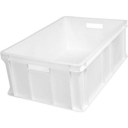 Přepravka plast 40 l 60x40x21 cm, bílá