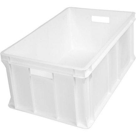 Přepravka plast 60 l 60x40x32 cm, bílá