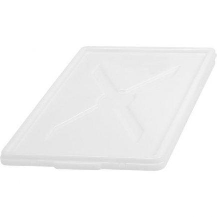 Víko pro přepravku 60x40 cm plast pro 229929176-179, bílé